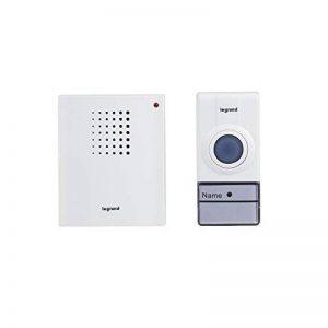 Legrand 094250Set de sonnette sans fil, blanc, 50m de la marque Legrand image 0 produit