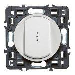 Legrand 099502 Céliane Interrupteur simple lumineux, 250 V, Blanc de la marque Legrand image 1 produit