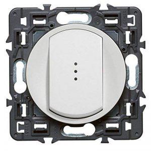 Legrand 099503 Céliane Interrupteur simple témoin, 250 V, Blanc de la marque Legrand image 0 produit