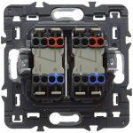 Legrand 099524 Céliane Interrupteur double lumineux, 250 V, Graphite de la marque Legrand image 1 produit