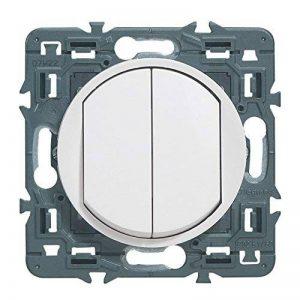 Legrand 099721 Céliane Interrupteur double, 250 V, Blanc de la marque Legrand image 0 produit
