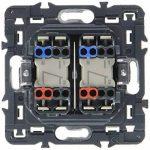 Legrand 099771 Céliane Interrupteur double, 250 V, Titane de la marque Legrand image 1 produit