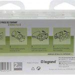 Legrand 200131 Céliane Kit Complet 2 Prises deux pôles avec terre précablée/boîte d'encastrement, 230 V, Blanc de la marque Legrand image 3 produit