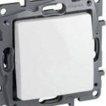 Legrand 396505NiloéInterrupteur à encastrer pour intérieur Blanc de la marque Legrand image 1 produit