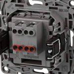 Legrand 397553mural, interrupteur pour encastrer Valena couleur Noir, 230V, graphite de la marque Legrand image 2 produit