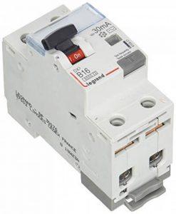 Legrand 410921DX3fils B16A Disjoncteur 1P + N 6KA 30mA AC de la marque Legrand image 0 produit