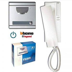 Legrand Bticino/a1-Kit avec plaque et s7 téléphone de la marque Legrand / Bticino image 0 produit
