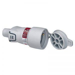 Legrand – Fiche électrique Femelle étanche – 2P + T IP44 – Avec volet de Protection Plexo - 093829 de la marque Legrand image 0 produit