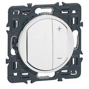 Legrand - Interrupteur Variateur Celiane 300 W Blanc à Composer – ref 99735 de la marque Legrand image 0 produit