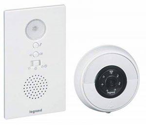 Legrand - Kit Sonnette et Visiophone sans Fil – Kit Carillon Connecté Blanc - 094232 de la marque Legrand image 0 produit