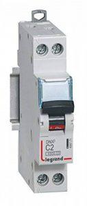 Legrand LEG406771 Disjoncteur dnx 4500 Vis/Vis U+N 230 V 2 A 4,5 kA Courbe C 1 m de la marque Legrand image 0 produit