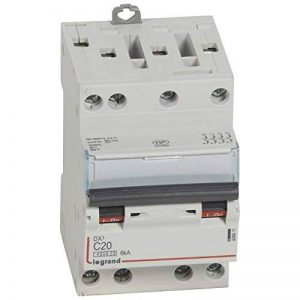 Legrand LEG406911 Disjoncteur dx 4500 Vis/Vis 4P 400 V 20 A 6 kA Courbe C 3 m de la marque Legrand image 0 produit
