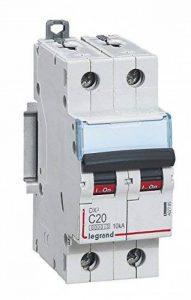 Legrand LEG407785 Disjoncteur dx 6000 Vis/Vis 2P 230/400 V 20 A 10 kA Courbe C Peigne hx trad 2P 2 m de la marque Legrand image 0 produit