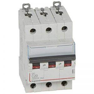 Legrand LEG407830 Disjoncteur dx 6000 Vis/Vis 3P 400 V 20 A 10 kA Courbe C Peigne hx trad 4P 3 m de la marque Legrand image 0 produit