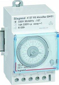 Legrand LEG412795 Inter-horaire programme analogique Cadran horizontal hebdomadaire avec Réserve marche de la marque Legrand image 0 produit