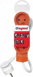 Legrand LEG50031 Rallonge multiprise standard 3 prises 2 pôles avec terre et cordon de 1,5 m Orange de la marque Legrand image 0 produit