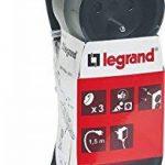 Legrand LEG50033 Rallonge multiprise standard 3 prises 2 pôles avec terre et cordon de 1,5 m Noir de la marque Legrand image 3 produit