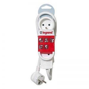 Legrand - LEG50052 - Rallonge Multiprises Standard - Blanc, 3 m de la marque Legrand image 0 produit