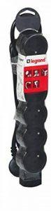 Legrand LEG50262 Rallonge multiprise standard 6 prises 2 pôles avec terre et cordon de 3 m Noir de la marque Legrand image 0 produit