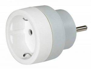 Legrand - LEG50382 - Adaptateur 2P + T 16A - Allemand pour Socle FR de la marque Legrand image 0 produit