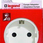 Legrand - LEG50382 - Adaptateur 2P + T 16A - Allemand pour Socle FR de la marque Legrand image 1 produit
