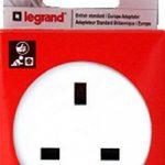 Legrand LEG50383 Adaptateur pour Socle FR Blanc de la marque Legrand image 1 produit