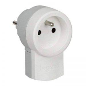 Legrand LEG50461 Fiche double fonction 250 V~ 16 A avec 2p+t 16 A Blanc de la marque Legrand image 0 produit