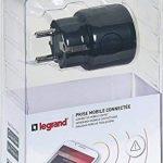 Legrand LEG50690 Prise mobile alerte connectée Wi-Fi Noir/Gris de la marque Legrand image 2 produit
