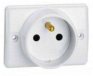 Legrand LEG50860 Prise à encastrer pour Plinthe 2P+T 16 A 250 V Blanc de la marque Legrand image 0 produit
