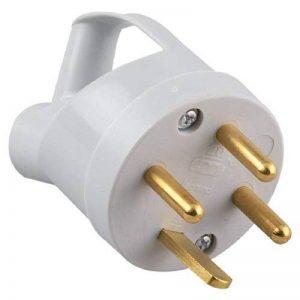 Legrand LEG55012 Fiche à anneau 20 A 3p+t IP44-ik08 poignée avec sortie latérale de la marque Legrand image 0 produit