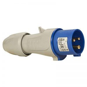 Legrand LEG555124 Fiche mobile droite P17 200/250 V 16 amères 2P+T IP44 de la marque Legrand image 0 produit