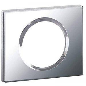 Legrand - LEG69121 - Céliane Plaque avec 1 Poste - Verre Miroir de la marque Legrand image 0 produit