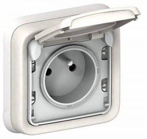 Legrand LEG69870 Plexo Prise de courant avec terre encastré Blanc de la marque Legrand image 0 produit