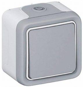 Legrand LEG69901 Interrupteur ou va et vient apparent complet Gris Plexo de la marque Legrand image 0 produit