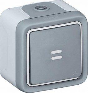 Legrand LEG69902 Interrupteur ou va et vient témoin apparent complet Gris Plexo de la marque Legrand image 0 produit