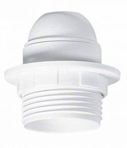 Legrand LEG91134 Douille plastique avec bague pour Ampoule à vis E27 Blanc de la marque Legrand image 0 produit