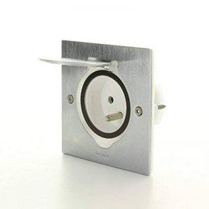 Legrand – LEG92110 – Kit simple prise de sol inox 2 Pôles + Terre de la marque Legrand image 0 produit