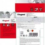 Legrand – LEG92110 – Kit simple prise de sol inox 2 Pôles + Terre de la marque Legrand image 4 produit