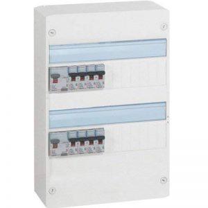 Legrand LEG93009 Tableau pré-équipé 2 rangées pour neuf ou rénovation inférieur à 35 m2 de la marque Legrand image 0 produit