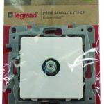 Legrand LEG96619 Prise TV femelle à visser éclat Niloe de la marque Legrand image 1 produit