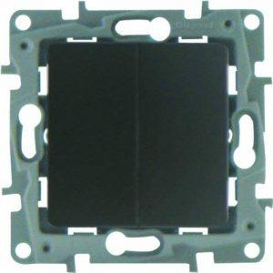 Legrand LEG96632 Double Va et vient fonte Niloe de la marque Legrand image 0 produit