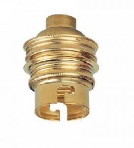 Legrand LEG97103 Douille laiton avec bague/sortie de câble sur le côté pour Ampoule à baïonnette B22 de la marque Legrand image 0 produit