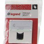 Legrand LEG99646 Prise RJ45 informatique téléphone 2 modules à composer Mosaic de la marque Legrand image 1 produit