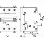 Legrand Magnet./Dif. tertiaire 411186–Magnet 30mA difer DX34P C16 de la marque Legrand image 1 produit