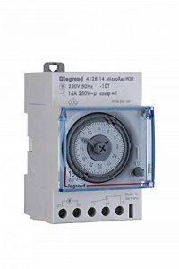 Legrand Micro Rex W31semaines Programmateur journalier Analogique, Répartiteur à encastrer 3Module Large, 412814 de la marque Legrand image 0 produit