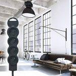 Legrand – Rallonge électrique Multiprise Standard 4 prise 2P + T - Cordon 3 m – Noir- 050208 de la marque Legrand image 3 produit