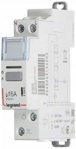 Legrand - Télerupteur 250V 1 contact F 16A Silencieux - 412400 de la marque Legrand image 0 produit