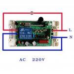 lejin 220V 1canal RF Télécommande sans fil commutateur 1émetteur + 3récepteur Télécommande avec RF Interrupteur mural sans fil AC 220V Appareil sur électronique à pâte/à de la marque Lejin image 3 produit