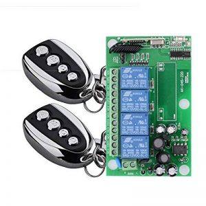 lejin 433MHz AC 220V 4CH RF Télécommande d'apprentissage CODE Télécommande INTERRUPTEUR 220V Télécommande Lumière Moteur Treuil Barrière de la marque Lejin image 0 produit