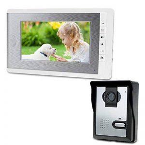 LIBO 7 Pouce Étanche Vidéo Interphone Filaire Vidéo Sonnette Porte Peephole Numérique HD Moniteur IR Nuit Vision Caméra pour Maison Porte Système D'entrée de la marque LIBO Smart Home image 0 produit